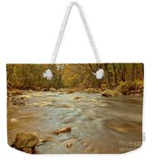 Pemigewasset River Rushing By Weekender Tote Bag