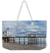 Penarth Pier Panorama 1 Weekender Tote Bag