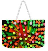 Pencil Blossom Weekender Tote Bag