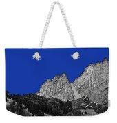 Pencil Sketch Of Dolomites Weekender Tote Bag