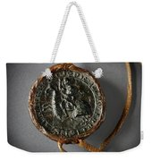 Pendent Wax Seal Of The Council Of Calahorra Weekender Tote Bag