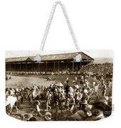 Pendleton Round-up Oregon Lewis Josselyn Photo Sept. 1929 Weekender Tote Bag