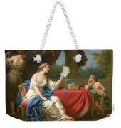 Penelope Reading A Letter From Odysseus Weekender Tote Bag