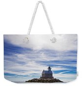 Penfield Reef Lighthouse Fairfield Connecticut Weekender Tote Bag
