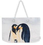Penguin Family Weekender Tote Bag