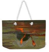 Penguin From Under Water Weekender Tote Bag