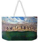 Penguins On Ice Weekender Tote Bag