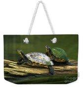 Peninsula Cooter Turtles Weekender Tote Bag