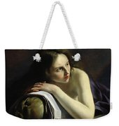 Penitent Magdalen Oil On Canvas Weekender Tote Bag