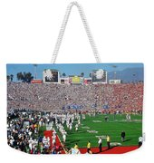 Penn State Rose Bowl Weekender Tote Bag by Benjamin Yeager