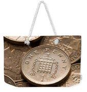 Pennies Sterling Full Frame Weekender Tote Bag