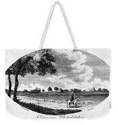 Pennsylvania Farm, 1795 Weekender Tote Bag