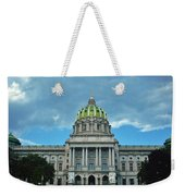 Pennsylvania State Capitol Weekender Tote Bag