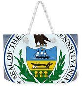 Pennsylvania State Seal Weekender Tote Bag