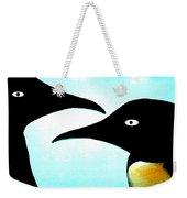 Penquin Love Weekender Tote Bag