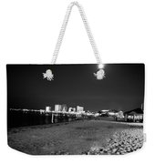Pensacola Beach At Night Weekender Tote Bag