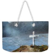 Pensacola Beach By The Light Of The Moon Weekender Tote Bag