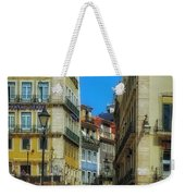 Pensao Geres - Lisbon 2 Weekender Tote Bag by Mary Machare