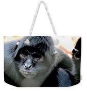 Pensive Monkey Weekender Tote Bag
