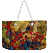 Penstemon Abstract 2 Weekender Tote Bag