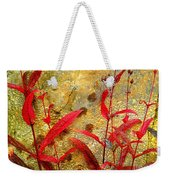 Penstemon Abstract 4 Weekender Tote Bag