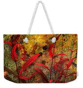 Penstemon Abstract 5 Weekender Tote Bag