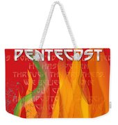 Pentecost Fires Weekender Tote Bag