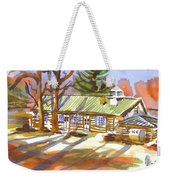 Penuel Lodge In Winter Sunlight Weekender Tote Bag