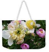 Peonies Bouquet Weekender Tote Bag