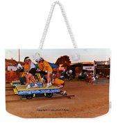 People At County Fair Weekender Tote Bag
