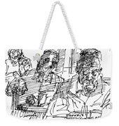 People At The Cafe Weekender Tote Bag