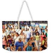 People In New York Weekender Tote Bag