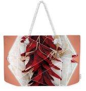 Pepper Triptych Weekender Tote Bag