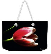 Peppermint Tulip Weekender Tote Bag