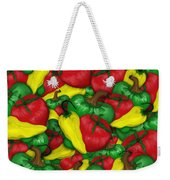 Peppers And Tomatos Weekender Tote Bag