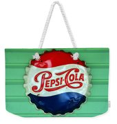 Pepsi Cap Weekender Tote Bag by David Lee Thompson