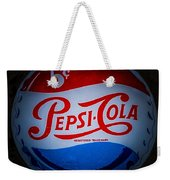 Pepsi Cap Sign Weekender Tote Bag