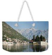 Perast In Kotor Bay Montenegro Weekender Tote Bag