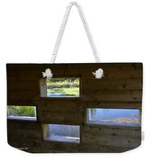 Perch Pond Blind Weekender Tote Bag