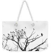 Perched Majestically Weekender Tote Bag