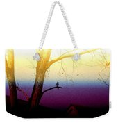 Perched On A Branch Weekender Tote Bag