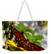 Perched On A Daisy Weekender Tote Bag