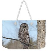 Perching Perfect Weekender Tote Bag