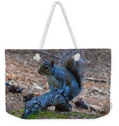 Perching Squirrel Weekender Tote Bag