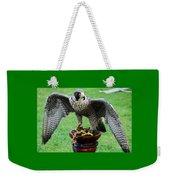 Peregrine Falcon # 1 Weekender Tote Bag