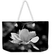 Perfect Bloom Magnolia In White Weekender Tote Bag