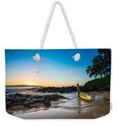 Perfect Ending - Beautiful And Secluded Secret Beach In Maui Weekender Tote Bag