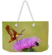 Perfect Hummingbird Moth Weekender Tote Bag
