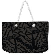 Perfect Imperfections II - Charcoal Infusion Weekender Tote Bag