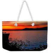 Perfect Marine Sunset Weekender Tote Bag